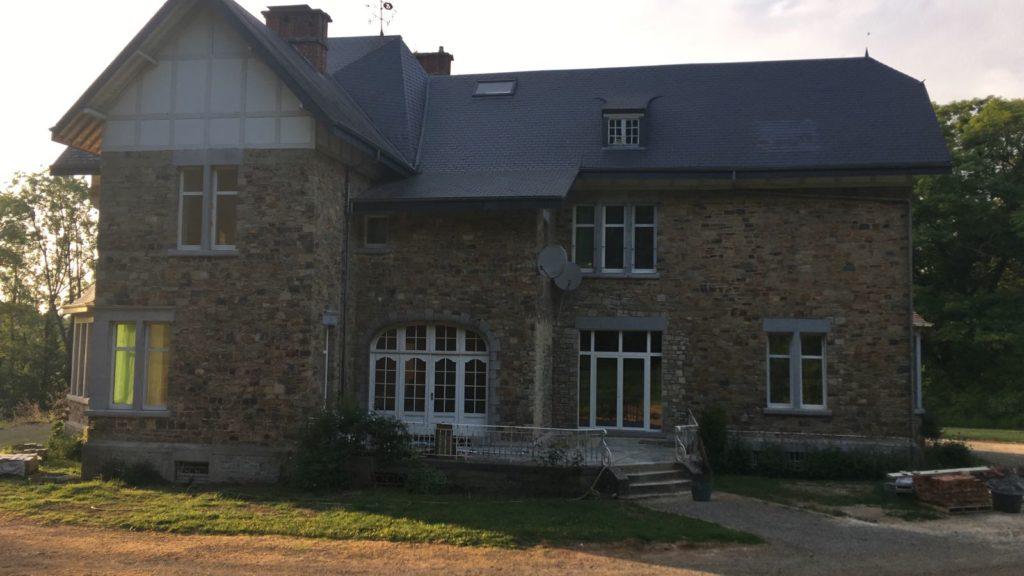 Rénovation de Château en Belgique complète ou partiel